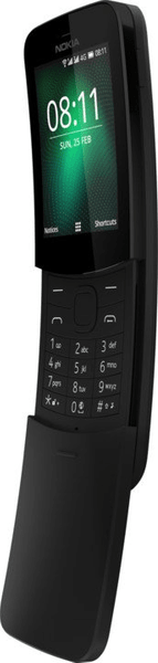Nokia 8110 4G, DualSIM, černá