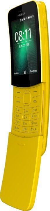 Nokia 8110, Dual SIM, žlutá