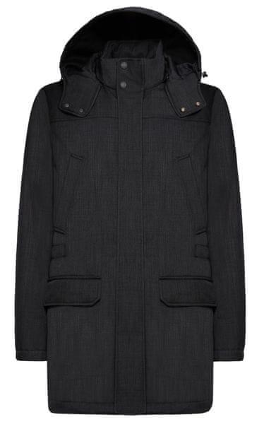 Geox pánský kabát Winfred 48 tmavě šedá 57755bbd1da