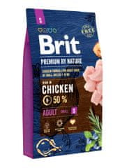 Brit hrana za odrasle pse Premium by Nature Adult S 8 kg
