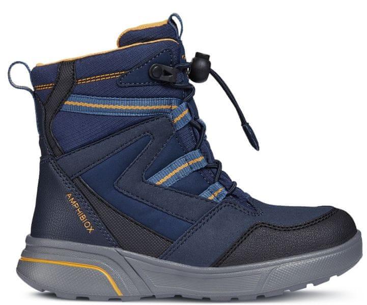 Geox chlapecké zimní boty Sveggen 32 modrá