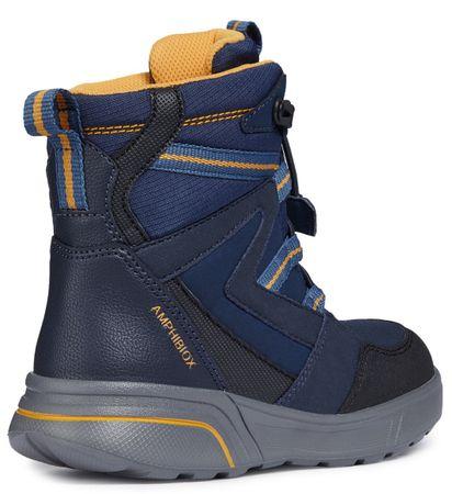 Geox chlapecké zimní boty Sveggen 35 modrá  19f0ca3538