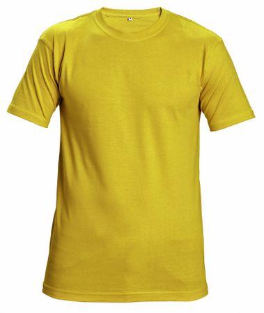 1367593f2080 Červa Bavlnené tričko s krátkym rukávom Garai sivá M