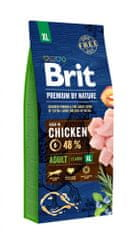 Brit hrana za pse Premium by Nature Adult XL, 15 kg