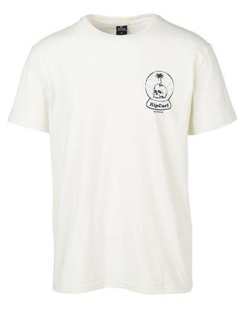 Rip Curl T-shirt męski Lazy Skull M kremowy