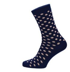 ROSENBULL Veselé ponožky- puntíkované béžové modré
