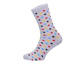 ROSENBULL Veselé ponožky- puntíkované barevné