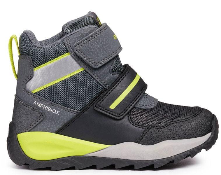 Geox chlapecké zimní boty Orizont 32 černá