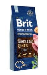 Brit hrana za pse Premium by Nature Light, 15 kg