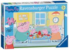Ravensburger sestavljanka Pujsa Pepa v kuhinji, 35 kosov
