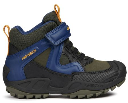 Geox buty zimowe za kostkę chłopięce New Savage 27 niebieski