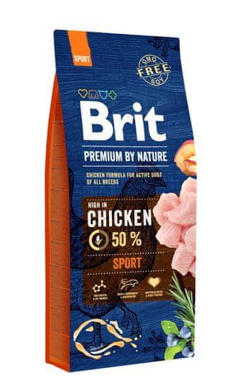 Brit hrana za pse Premium by Nature Sport, 15 kg