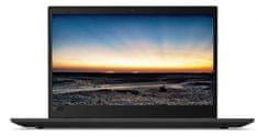 Lenovo prenosnik ThinkPad T580 i7-8550U/8GB/SSD512GB/15,6FHD/W10P (20L90023SC)