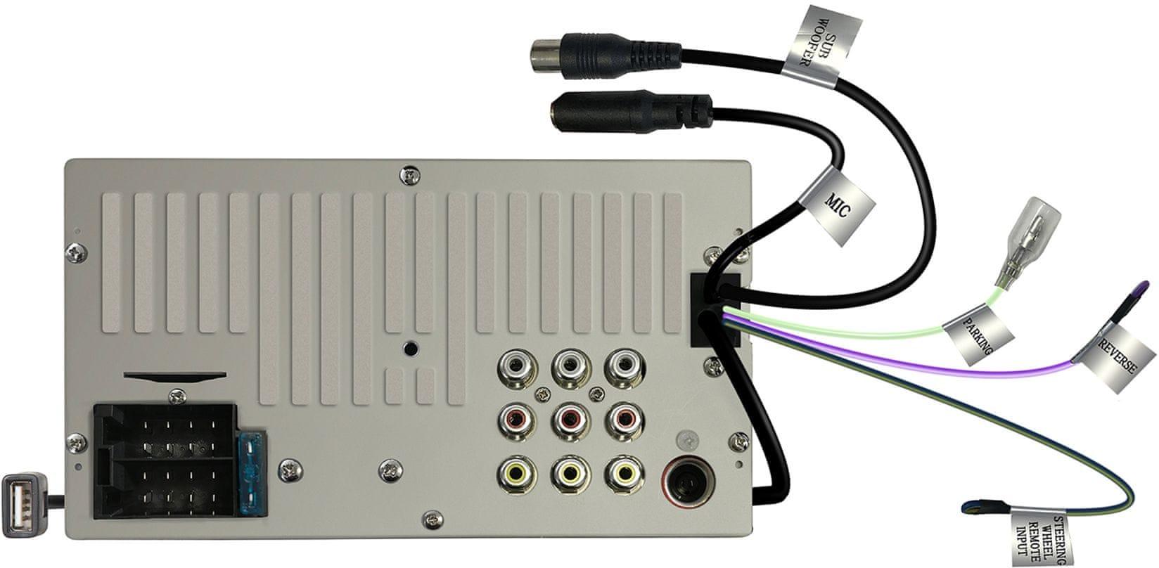 JVC KW-M24BT autórádió videó JPEG MPEG
