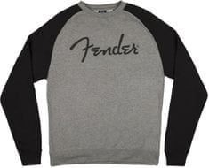 Fender Logo Pullover Gray L Mikina