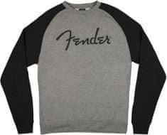 Fender Logo Pullover Gray M Mikina