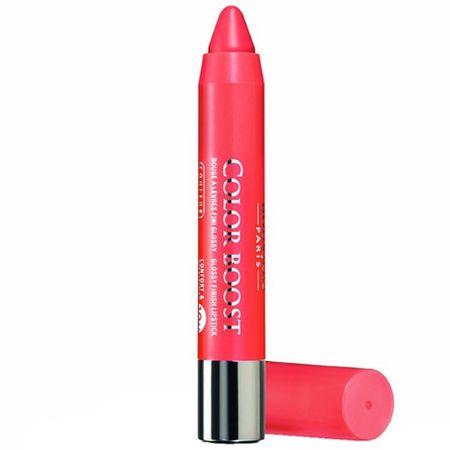 Bourjois Rtěnka v tužce Color Boost SPF 15 2,75 g (Odstín 01 Red Sunrise)
