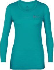 Icebreaker Damski t-shirt z długim rękawem Tech Lite