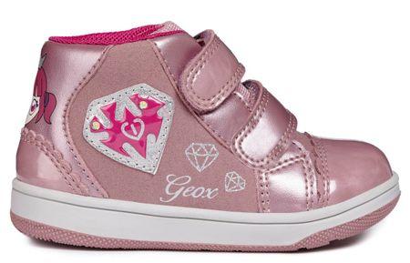 Geox dekliški gležnjarji New Flick, 22, roza