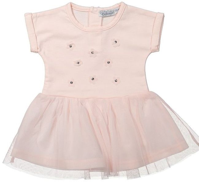 Dirkje Dívčí šaty - světle růžové