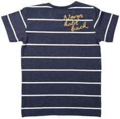 Dirkje Chlapecké tričko NEVER HOLD BACK - modré