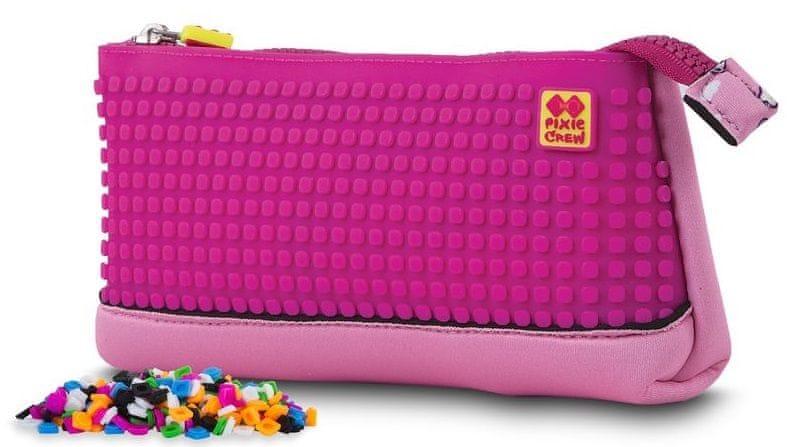 Pixie Crew Víceúčelový pixelový penál Hello Kitty růžový