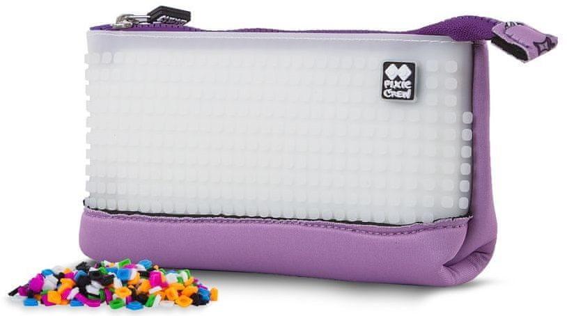Pixie Crew Víceúčelový pixelový penál Hello Kitty fialový