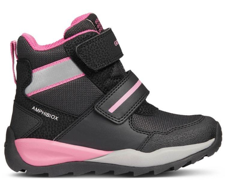 Geox dívčí zimní boty Orizont 26 černá