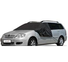 MAMMOOTH Zimní ochranná plachta na auto, DE LUX MEDIUM, k zakrytí předního a bočních skel