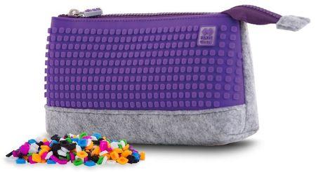 Pixie Crew Kreativní pouzdro do školy fialové