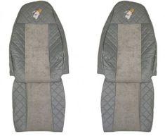 F-CORE Potahy na sedadla FX01, šedé