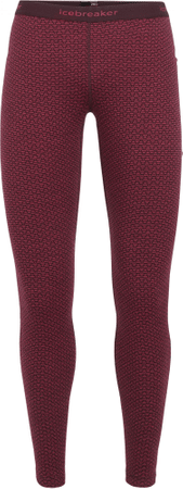 Icebreaker Wmns 250 Vertex Leggings Mountain Dash Prism/Velvet S