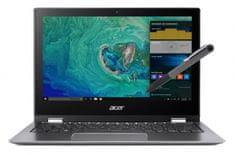 Acer prenosnik SP111-32N-P9DQ N4200/4GB/64GB/11,6FHD/W10S (NX.GRMEX.011)