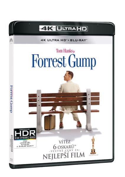 Forrest Gump (2 disky) - Blu-ray + 4K ULTRA HD