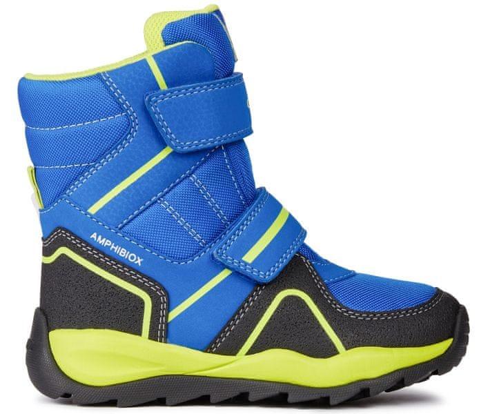 Geox chlapecké zimní boty Orizont 32 modrá
