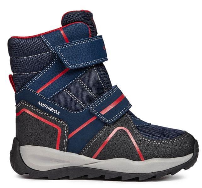Geox chlapecké zimní boty Orizont 26 tmavě modrá 2bb843a42b