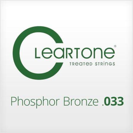Cleartone Phosphor Bronze .033 Kovová struna na akustickú gitaru