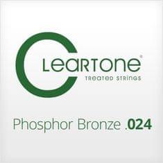 Cleartone Phosphor Bronze .024 Kovová struna pro akustickou kytaru