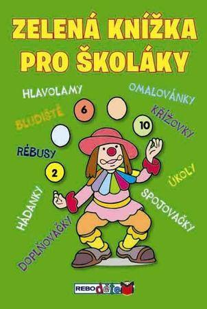 autor neuvedený: Zelená knížka pro školáky - 4.vydání