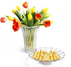 Vidivi zestaw z wazą i misą DOGE 30/34 cm