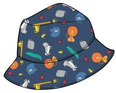 Losan chlapecký klobouček se zvířátky
