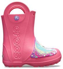 Crocs dekliški dežni škornji Creature Rain Boot