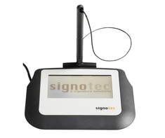 Signotec podpisna tablica Sigma ST-ME105-2-U100-B