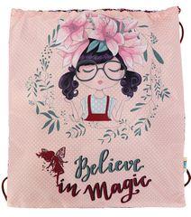 Street vrečka za copate Believe in Magic