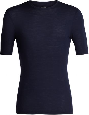 Icebreaker Mens 175 Everyday SS Crewe Midnight Navy XXL