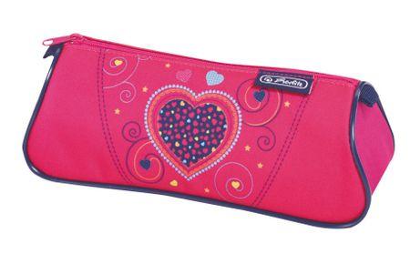 Herlitz Školní batoh Midi srdce růžové - vybavený  58fc47e6fa