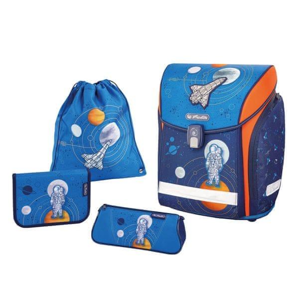 Herlitz Školní batoh Midi vesmír - vybavený 1ef8062ed9