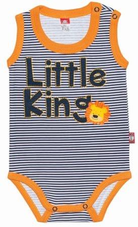 2be3 chlapecké body Little King 74 modrá/oranžová