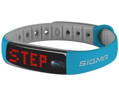 Sigma Fitness náramek Activo Blue