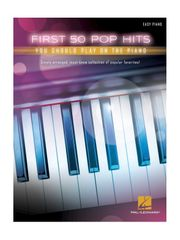 MS First 50 Pop Hits You Should Play On The Piano Noty pre klavír